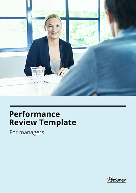 Performance Review Template Title